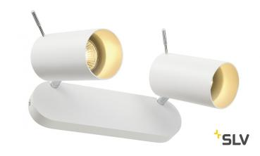 ASTO TUBE 2 Deckenspot 2xGU10 25x6cm