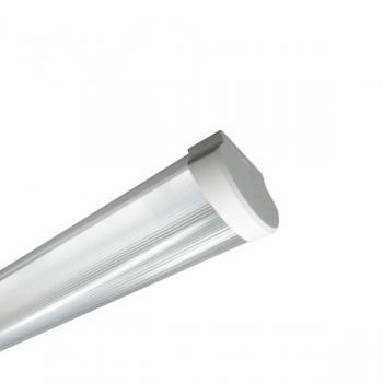 SIMPO Deckenleuchte LED 120cm 1-fl. geriffelt vorverdrahtet für LED Röhren