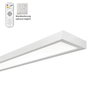 LED CCT DIM 48W UGR19 Deckenleuchte 3K-5.7K CRI95 120x15cm