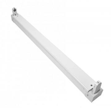 LED Röhren Halterung 120cm 1flammig vorverdrahtet
