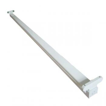 LED Röhren Halterung 120cm 2flammig vorverdrahtet