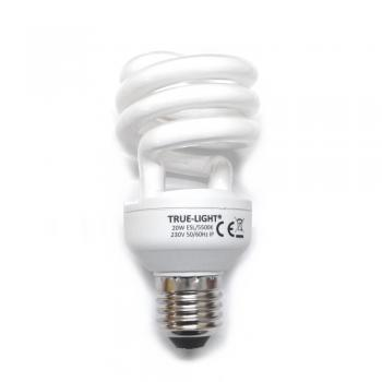 20 W True-Light ESL E27 CRI96 5.5K 1.120lm